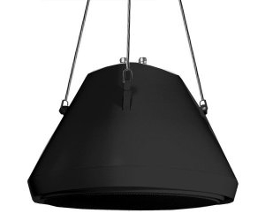 "30Watt 5.25""Pendant Speaker and Chain BK"