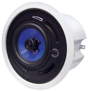 "6.5"" 25/70V Speaker with Backbox"