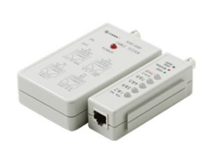 Cable Tester for Cat5 and BNC
