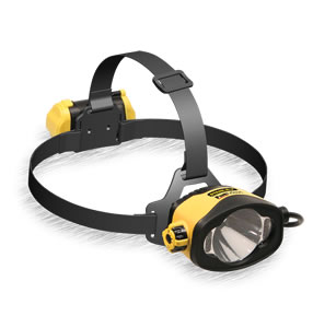 Waterproof LED Alkaline Headlamp