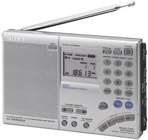 Multi-Band World Receiver Radio