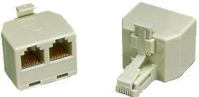 Two-Line Split T-Adapter