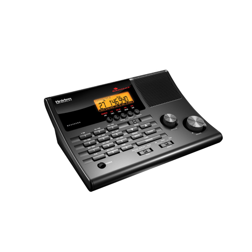 500 Channel Clock/Radio Scanner with Wea
