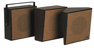 1W/1Way Bi-Direct Speaker, Brown