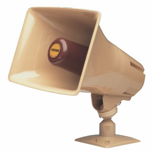 Talkback Paging Horn - Beige