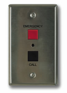 Valcom Emergency/Normal Call Switch