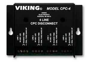 Generate CPC Disconnect Signals