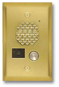 Video Entry Phone-Brass