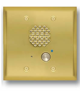 Brass Entry Phone with Auto Disconnect