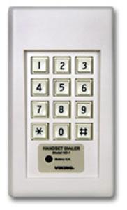 Handset Dialer - White