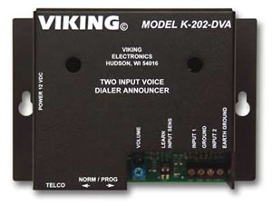 Two-Input Voice Alarm Dialer
