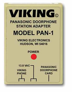 Panasonic Door Phone Station Adapter
