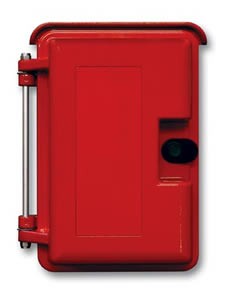 HEAVY DUTY OUTDOOR ENCLOSURE RED