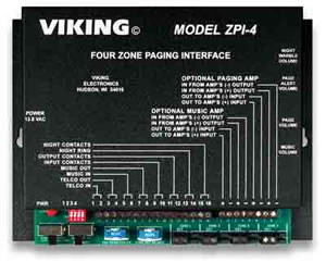 Viking Multi-Zone Paging INterface