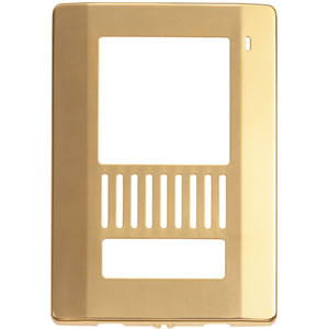 Faceplate for VL-GC003A - Brass