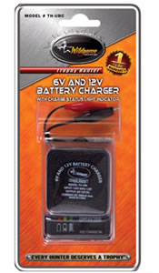 6/12 Volt Universal Battery Charger