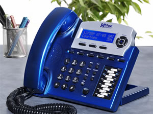 XBlue Speakerphone - Vivid Blue