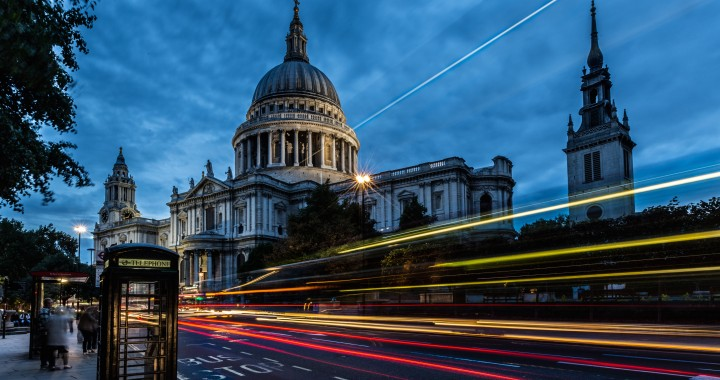 St. Paul's Cathedral Long Exposure Shot