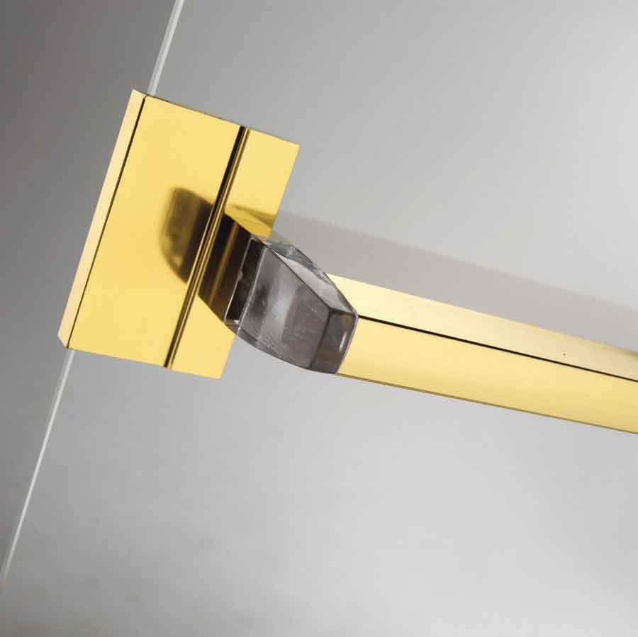 Sliders splendor Glass towel bar
