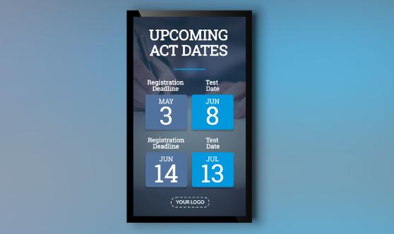 ACT Dates Portrait