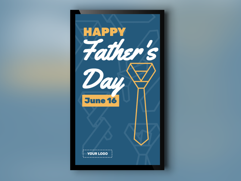 Father's Day Tie Portrait
