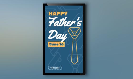 Father's Day Tie Portrait