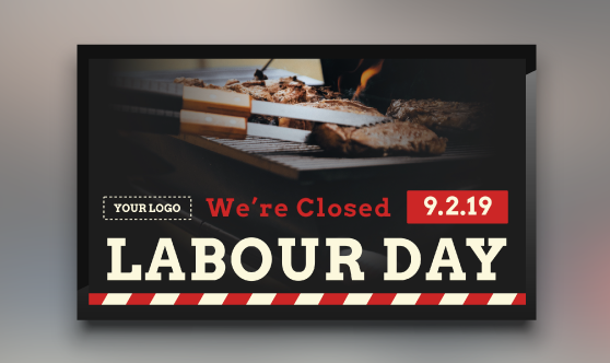 Labour Day Closure