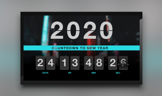 New Year Timer Countdown