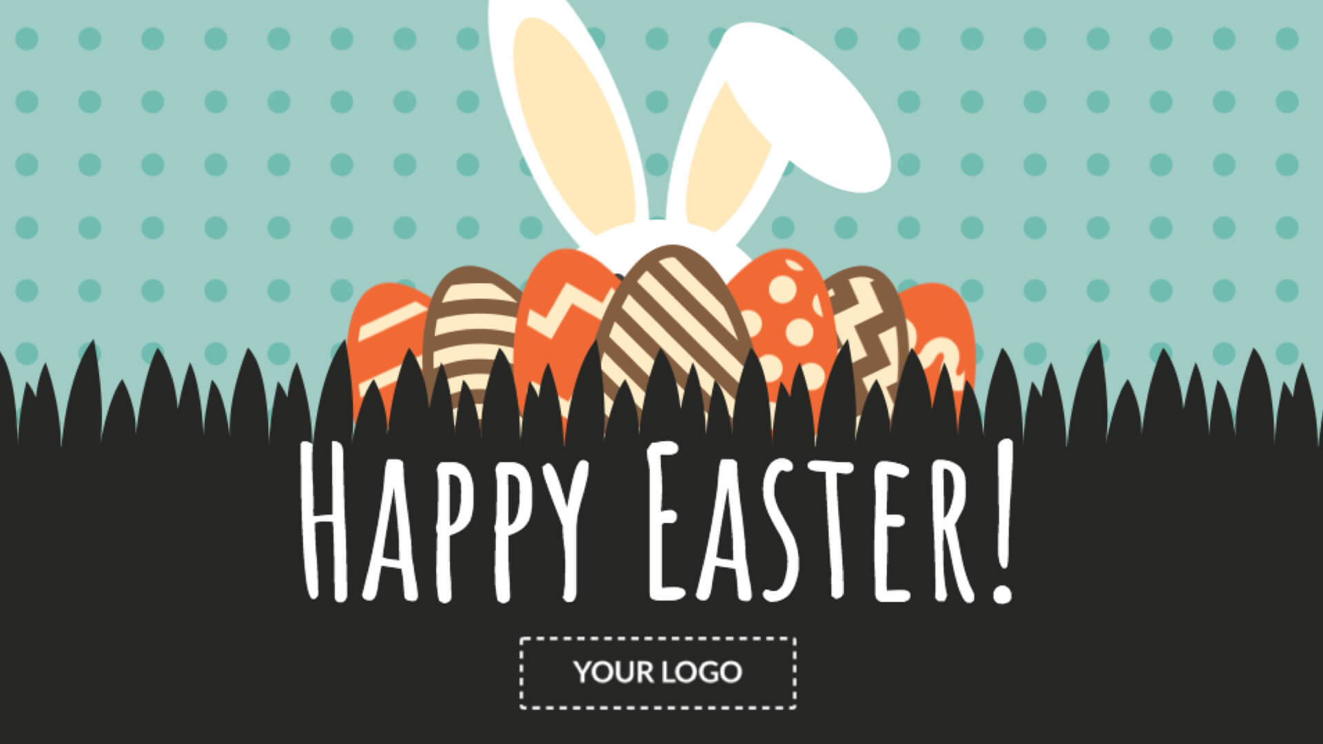 Happy Easter Digital Signage Template