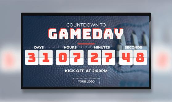 Gameday Countdown