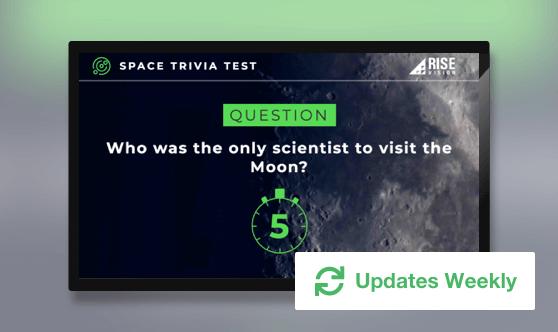 Space Trivia