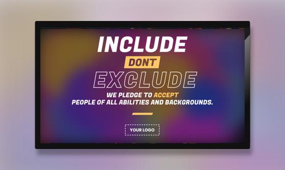 Campaign Inclusion Pledge