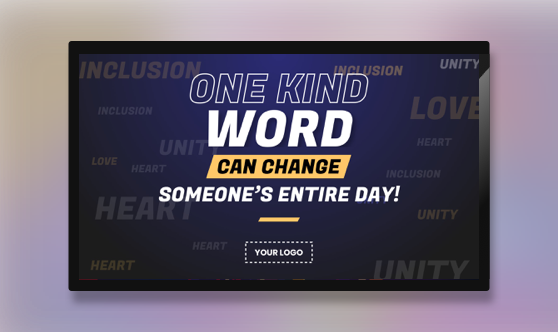 Campaign Positive Message Text