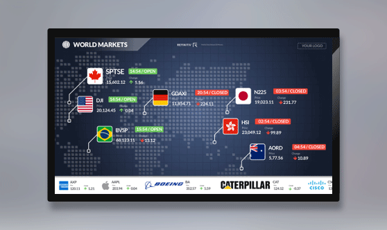 World Markets Full Screen