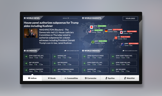 Interactive Marketwall