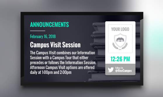 Announcements Campus