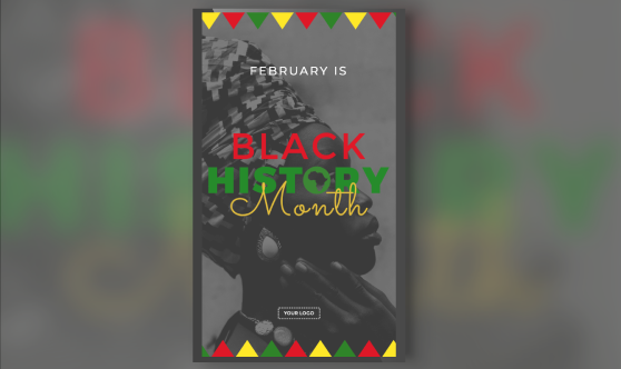 Black History Month Portrait