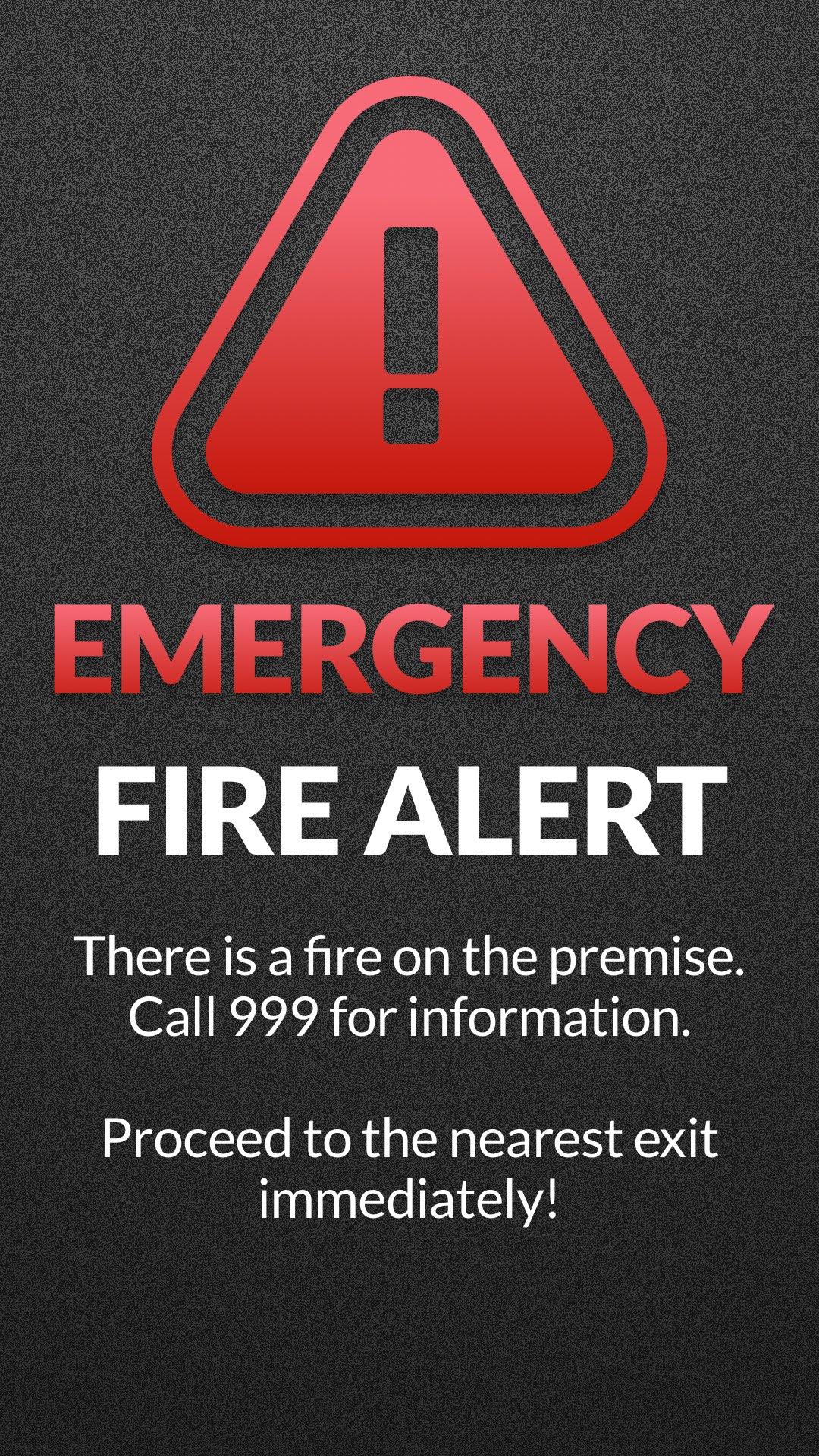 CAP Alert Emergency Portrait