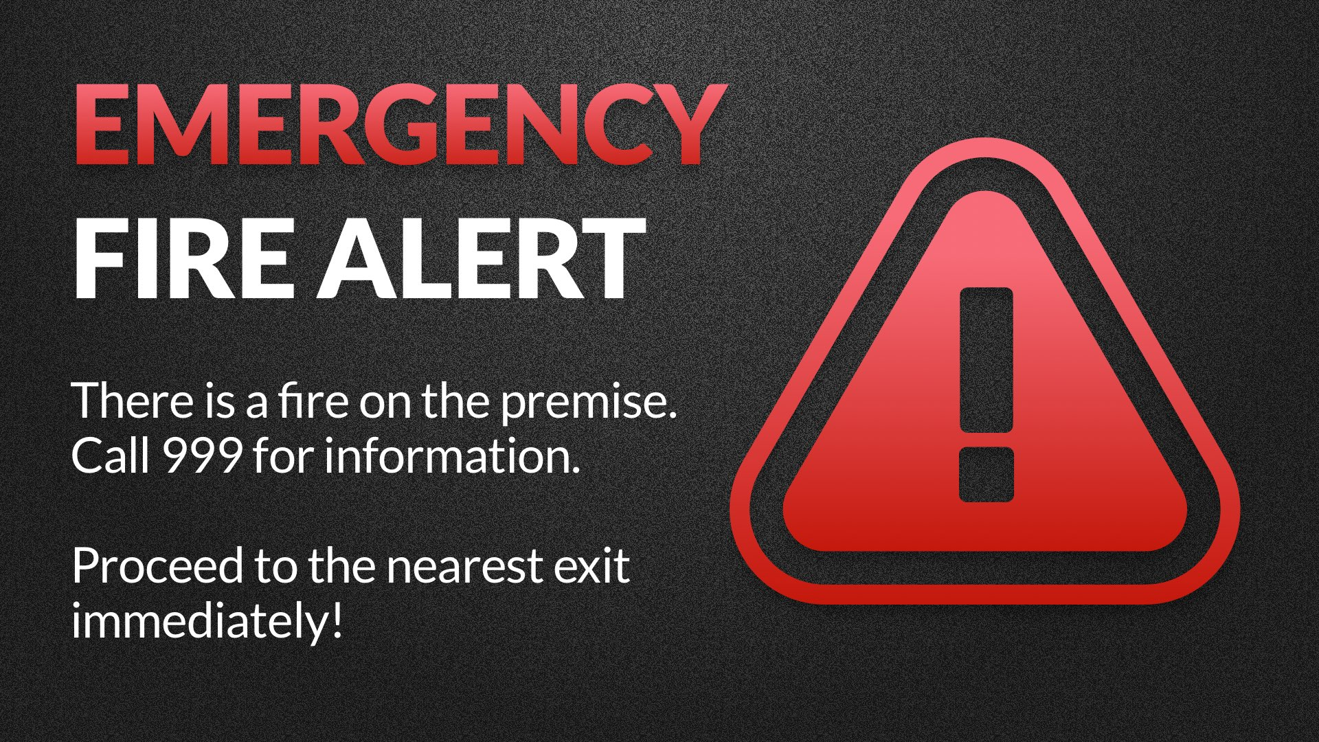 CAP Alert Emergency