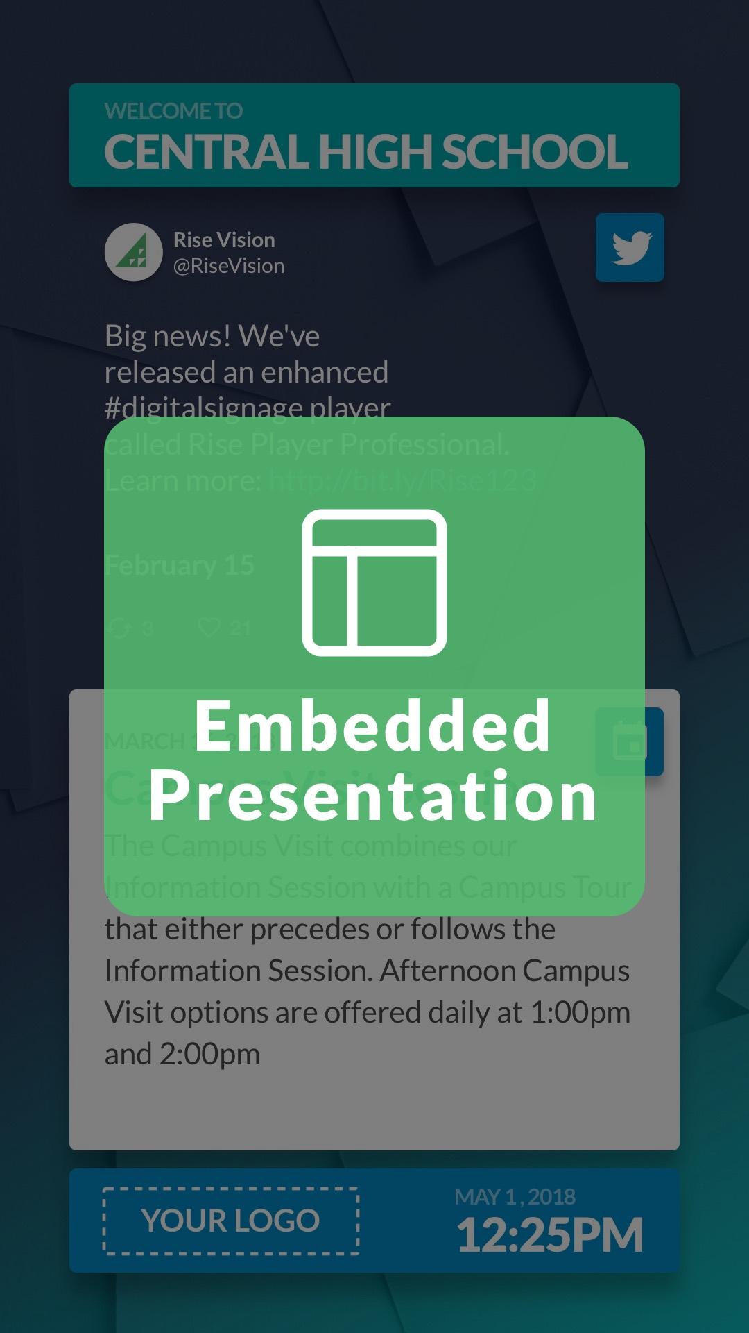 Embedded Presentation Widget Portrait