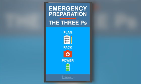 Emergency Preparation Portrait