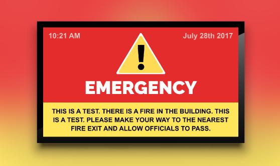 Emergency Alerts