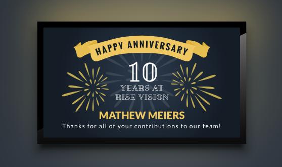 Employee Anniversary