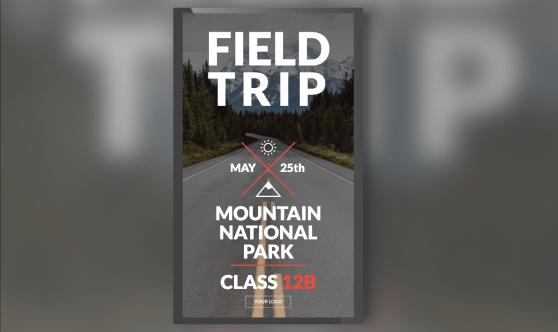 Field Trip Image Portrait