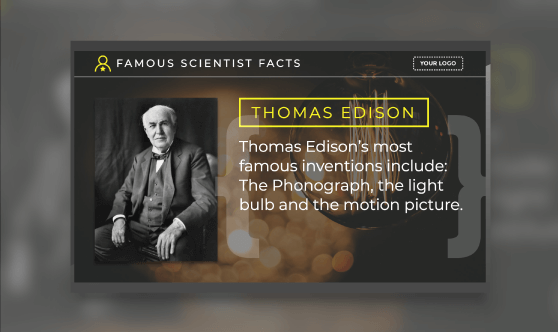 Famous Scientist Facts