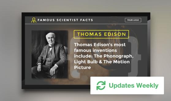 Famous Scientist Facts
