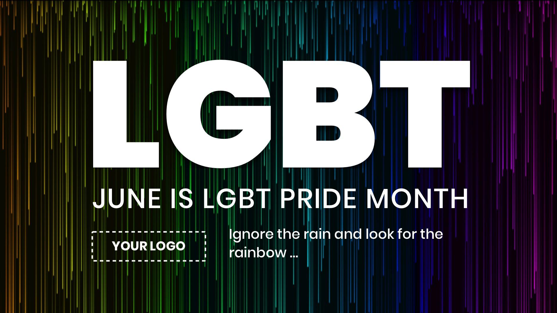 LGBT Pride Rain