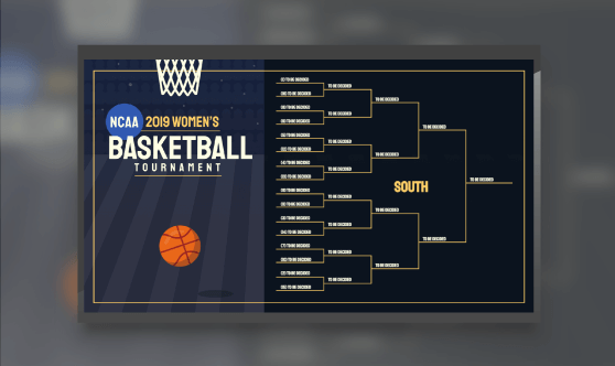 2019 Women's NCAA Basketball Bracket