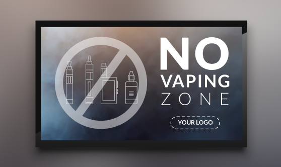 No Vaping Zone