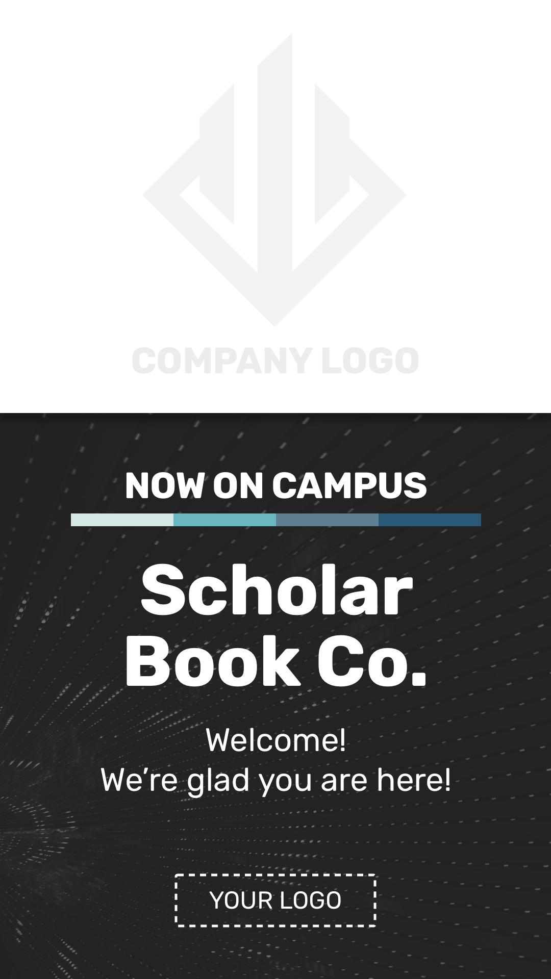 Company On Campus Portrait